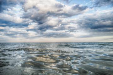 Fototapeta Clouds and sea