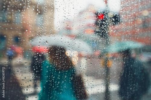 фотография Rain in the city