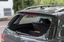 Broken Rear Window
