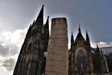 Köln. Dom. Rhein. Heinzelmännchen.