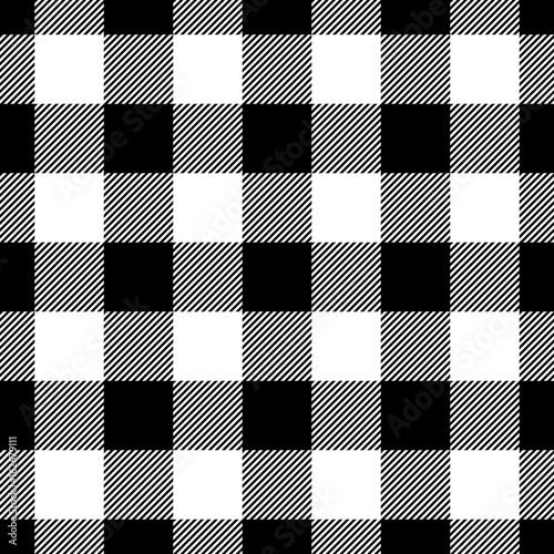 wzor-kratki-drwala-w-czerni-i-bieli
