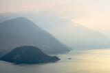 Foggy hills around Bellagio, Lago di Como - 162679928