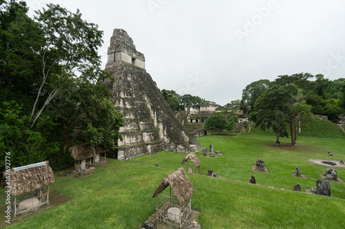 Fotografie, Obraz  Tika Ruins of Guatemala