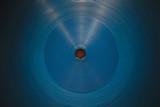 Fototapeta Perspektywa 3d - blue