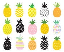 Vector Illustration Set Of Pin...