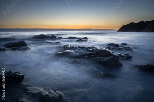 Half Moon Bay Long Exposures Canvas Print