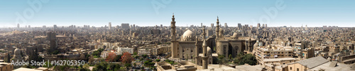 Panoramic view of old Cairo from citadel, Egypt
