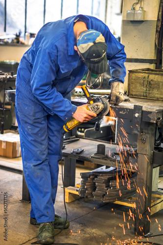 Egypt Worker in metal industry