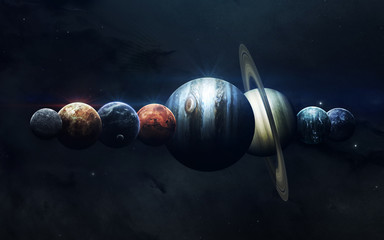 Earth, Mars, and others. Sc...