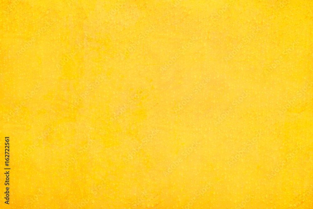 Fototapety, obrazy: Texture and background of yellow concrete wall..