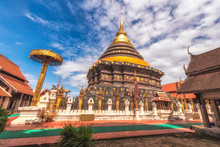 Wat Phra That Lampang Luang Is A Temple In Lampang Province In Thailand.