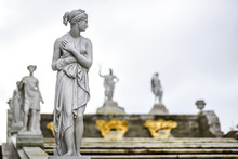 Sculpture In Park Of Peterhof ...