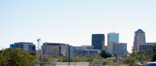 Panorama Of Downtown Of A Majo...