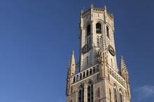 Top Of The Belfry Of Bruges