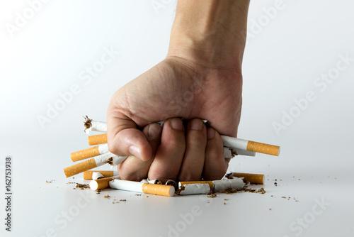 Cuadros en Lienzo Quit smoking concept