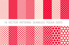 16 VECTOR PATTERNS SEAMLESS PO...