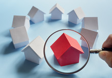 Searching For Real Estate, House Or New Home