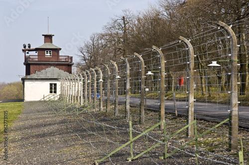 Valokuva  Iron fence in prison