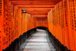 Leinwanddruck Bild - Gate to heaven, Kyoto, Japan