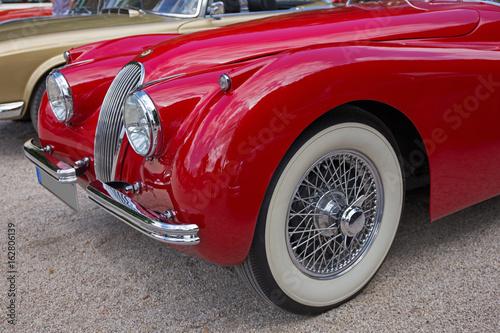 Fototapety, obrazy: alter englischer Sportwagen