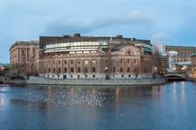 Riksdagshuset I Stockholm Fota...