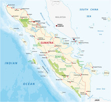 Road Map Of The Indonesian Isl...
