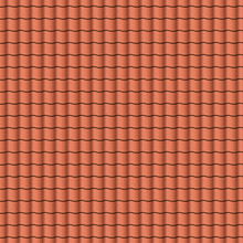 Red Roof Tiles Background Text...