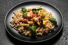 Salat Av Bygg Ensalada De Cebada Barley салат из ячменя Salad Insalata D'orzo Salat Von 大麦沙拉 Gerste Saláta Orzo árpa Sałatka Z Jęczmienia 大麦のサラダ Salada