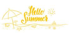 Strandurlaub Hello Summer