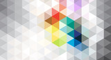 Abstract geometric background of gray - 162839167
