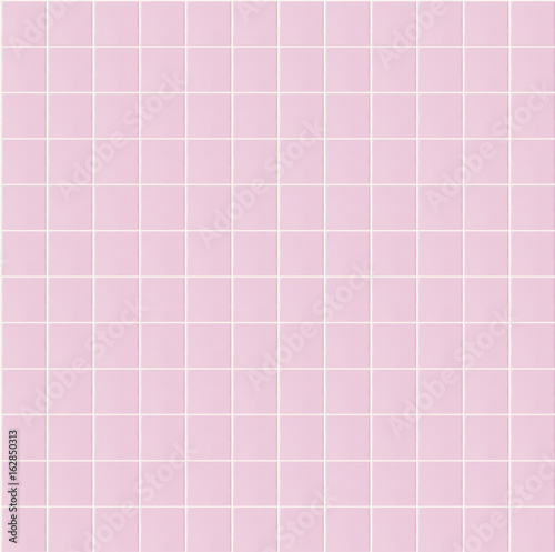 Light Pink Seamless Pattern Tile Wall Texture Background For Interior Home Bathroom Design Or