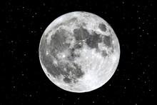 Full Moon Rising Over The Hori...