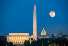 Supermoon Above Three Iconic M...