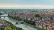Panorama of Verona city, Italy