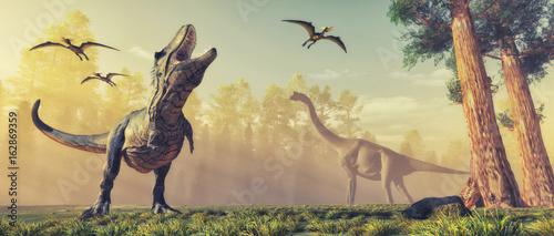 Tablou Canvas Dinosaur