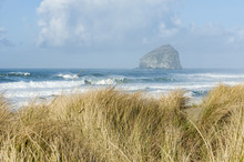 Chief Kiawanda Rock Near Pacific City Oregon