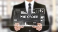Pre-Order, Hologram Futuristic Interface, Augmented Virtual Reality
