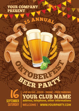 Oktoberfest Beer Party Template