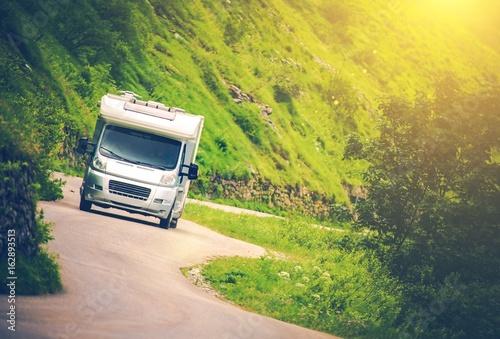 Carta da parati Camper Van Road Trip