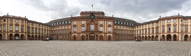 castle mannheim germany high definition panorama