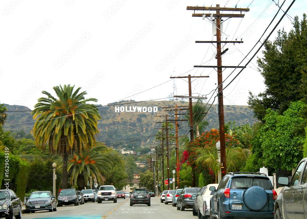 Photo  Hollywood sign