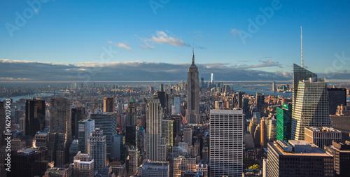 Foto op Aluminium New York New York, Manhattan skyline