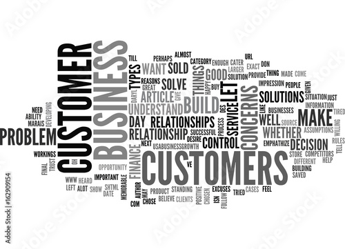 Photo  WHAT IS GREAT CUSTOMER SERVICE TEXT WORD CLOUD CONCEPT