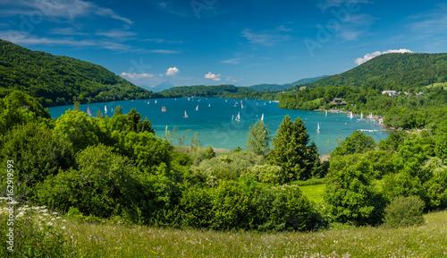 Obraz na plátně Grand lac de Laffrey