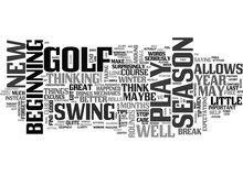 WHY DOES A LONG LAYOFF MAKE YOU PLAY BETTER GOLF TEXT WORD CLOUD CONCEPT