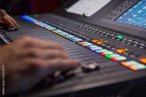 Fototapeta  Digital Mixing Console