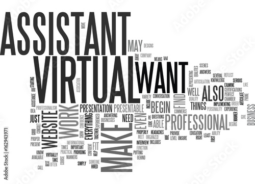Fotografie, Obraz  YOURE HIRED TEXT WORD CLOUD CONCEPT