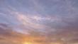 swirling sunset sky