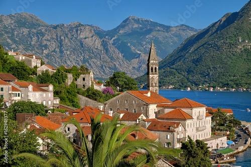 Fotobehang Oceanië Perast Village, Montenegro