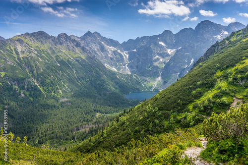 Obraz Tatra mountains landscape, Morskie Oko - fototapety do salonu